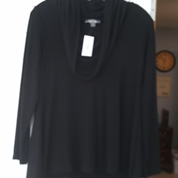 Roz & Ali Sweaters - Roz & Ali cowl neck sweater